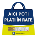 Plata in rate prin cardul de cumparaturi Alpha Bank