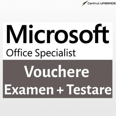 Vouchere examene MOS cu testare inclusă