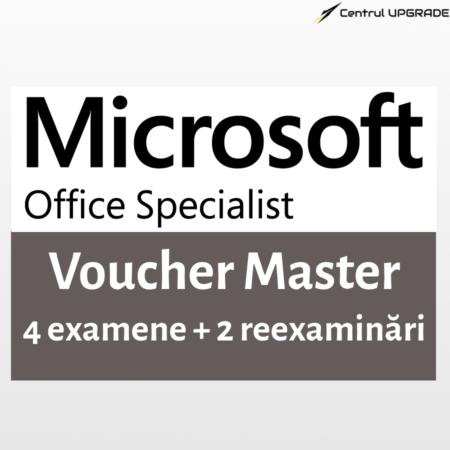 Voucher MOS Master - 4 examene + 2 reexaminari