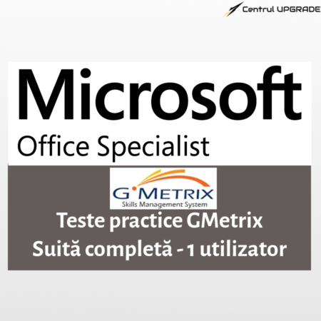 Teste practice Gmetrix MOS - suita completă - 1 utilizator