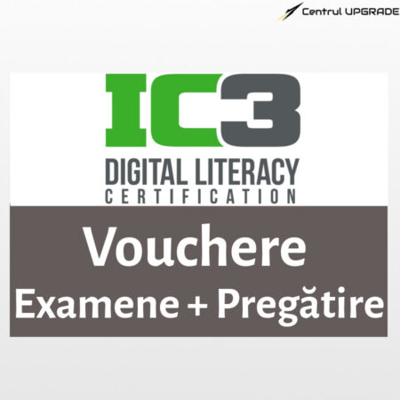 Vouchere examene IC3 + pregătire